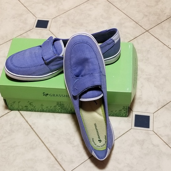 Grasshoppers Shoes - Grasshoppers W Canyon Chambray flats size 10M